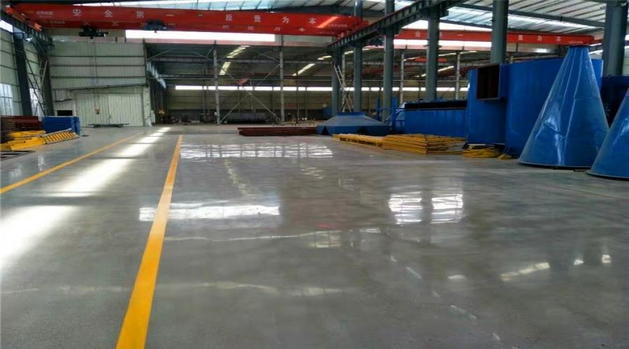 宁波机械设备厂水泥地面硬化地坪