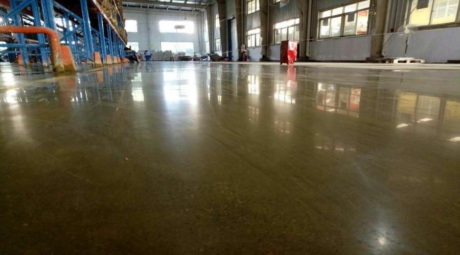 衢州电气设备厂-金刚砂地坪+密封固化剂地坪